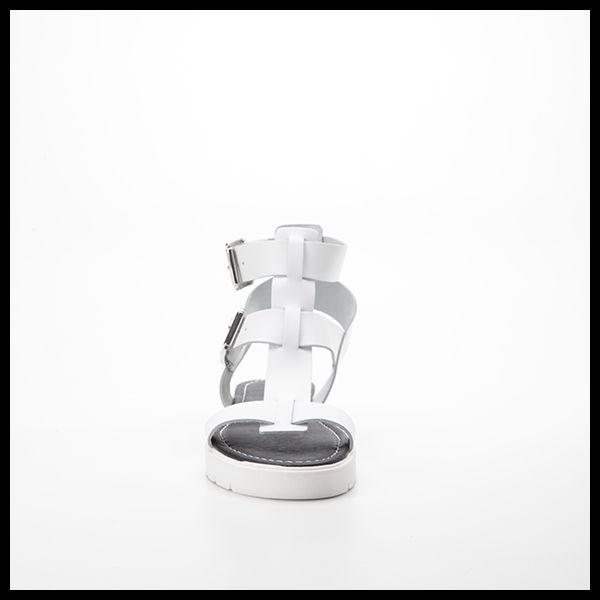 Sandalo BARCA flatform bianco