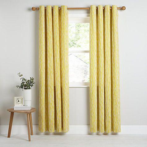 Buy John Lewis Xander Lined Eyelet Curtains Online at johnlewis.com