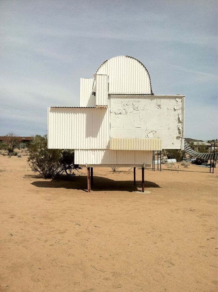 Desert art by Noah Purifoy