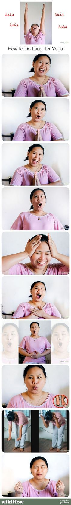 How to Do Laughter Yoga
