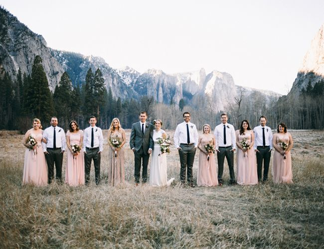 Intimate Yosemite Wedding - Inspired By This
