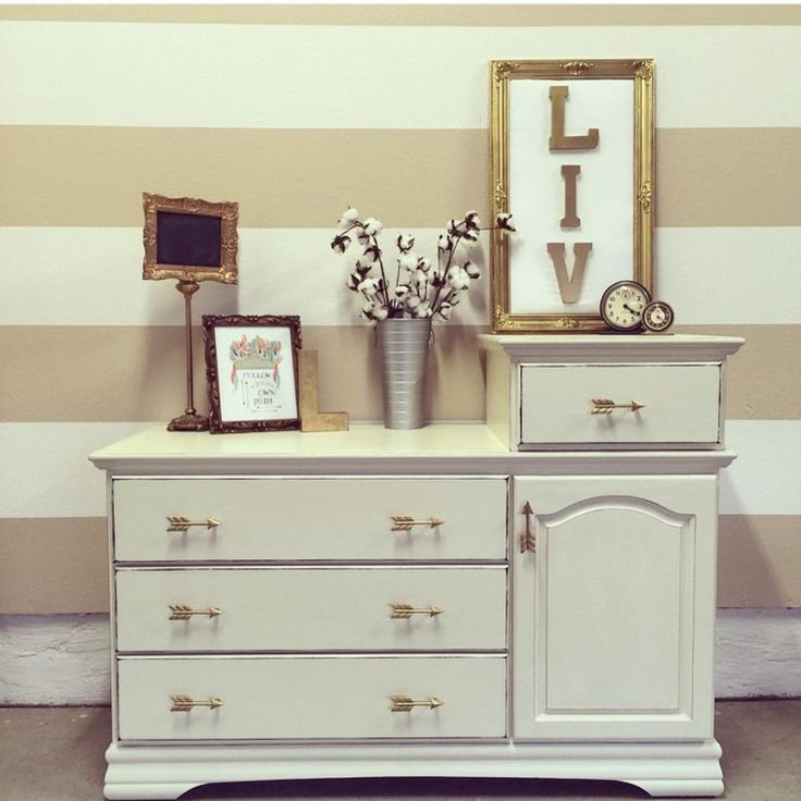 """uniqueantweaks on Instagram: """"A little #relovedmonday for my girl @jaimea4 and a #moveitmonday for my sweet friend @smalltowngirllife I loved this redo because she had this simple red/brown wood changing table. She trusted me to do what I wanted to with it and I didn't let her down. It feels so good to have someone love your work so much. Some paint, the right hardware and a little OCD pint sized painter and You've got yourself a new dresser."""""""