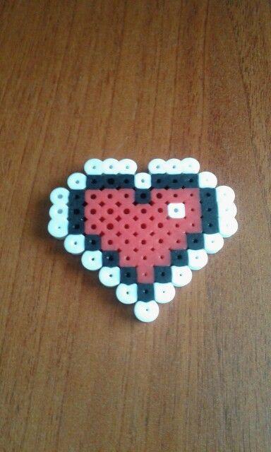 Hama bead - Legend of Zelda Heart