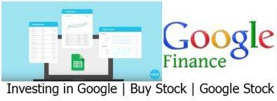 Google Finance - Google Stock Price | Investing in Google - Silvercrib