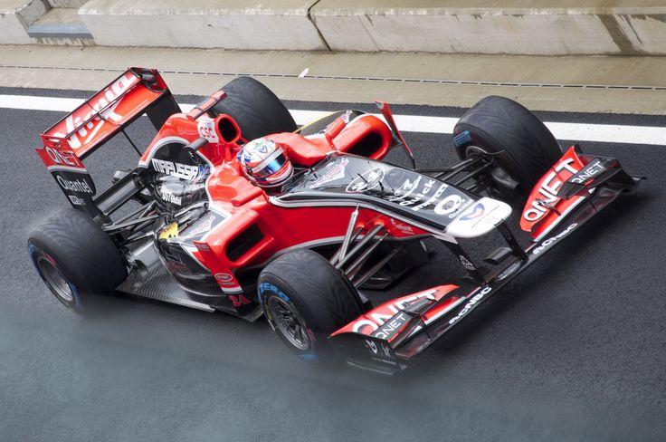 2011 GP Wielkiej Brytanii (Timo Glock) Virgin MVR 02 - Cosworth