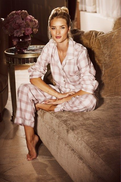 Rosie Huntington-Whiteley Adds Nightwear To M&S Lingerie Line!