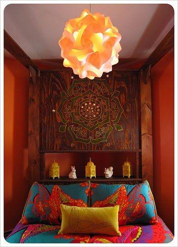 #bohemian bedroom