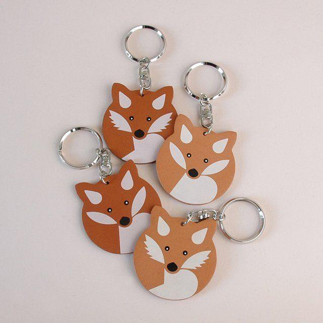 Fancy - Maison Kitsun Key Ring: Crafts Ideas, Doudou Kitsun, Kitsuné Shops, Keys Rings, Kitsuné Journals, Maison Kitsuné, Kitsun Foxes, Kitsuné America, Kitsuné Keys