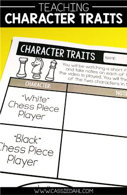 Teaching character traits can be fun! This blog post contains four different ways you can discuss character traits in your classroom  and it even includes a free download!