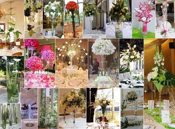 Le centre de table est essentiel dans la décoration de vos tables. Les centres de table reflètent la gaieté, l'amour, la fraicheur, la rencontre, les mariés…et peut exprimer un thème que vous avez choisi pour votre mariage. Le centre de table est un pièce centrale à partir de laquelle les regards se croisent et les