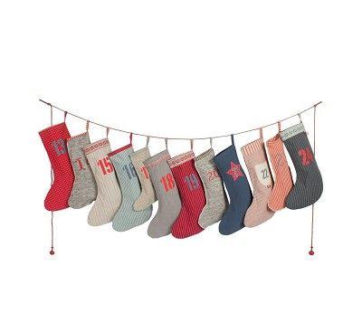 Julekalender med 12 sokker med 24 tall fra Maileg fra Sprell. Om denne nettbutikken: http://nettbutikknytt.no/sprell-no/