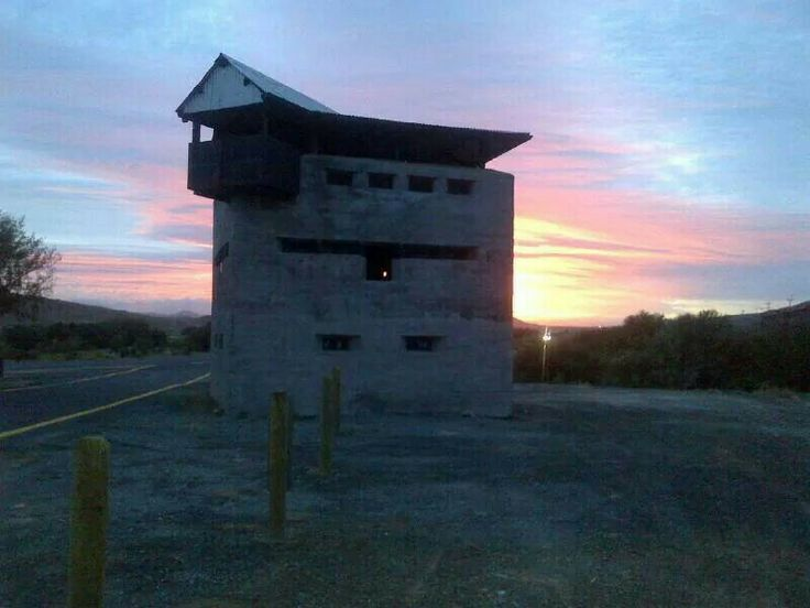 Laingsburg blokhuis - memories of the Anglo-Boer war.