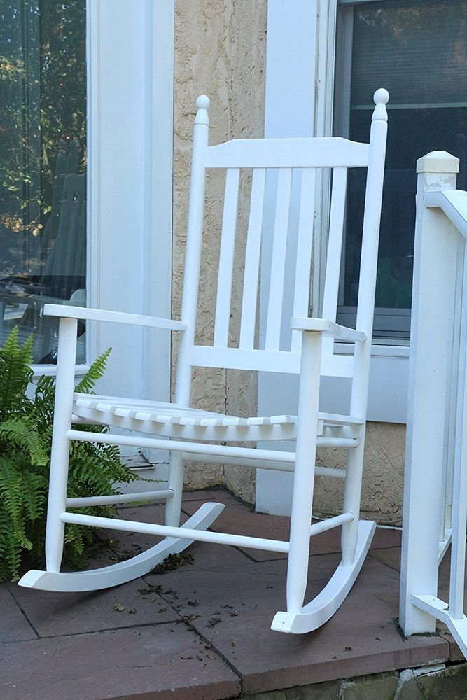 White Wooden Rocking Chair Kinderzimmer Mobel Schaukelstuhl Und