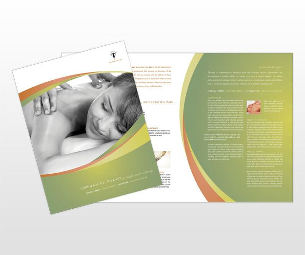 23 best images about massage therapy business on pinterest for Massage brochure template