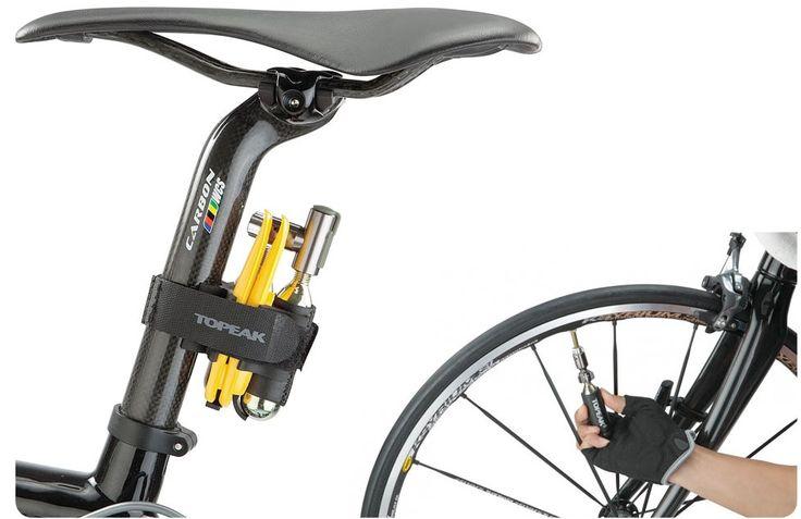 Велосипедный насос-инфлятор Topeak AirBooster Race Pod. Насосы-инфляторы Topeak AirBooster Race Pod известны во всем мире. С помощью них за считанные секунды можно подкачать колесо велосипеда, а потом убрать обратно в чехол. Вес комплекта составляет 173 грамма, сюда входят инфлятор и два баллончика с углекислым газом. Примечательно то, что когда газ закончится, у сторонних производителей можно докупить CO2-баллоны за сущие копейки.