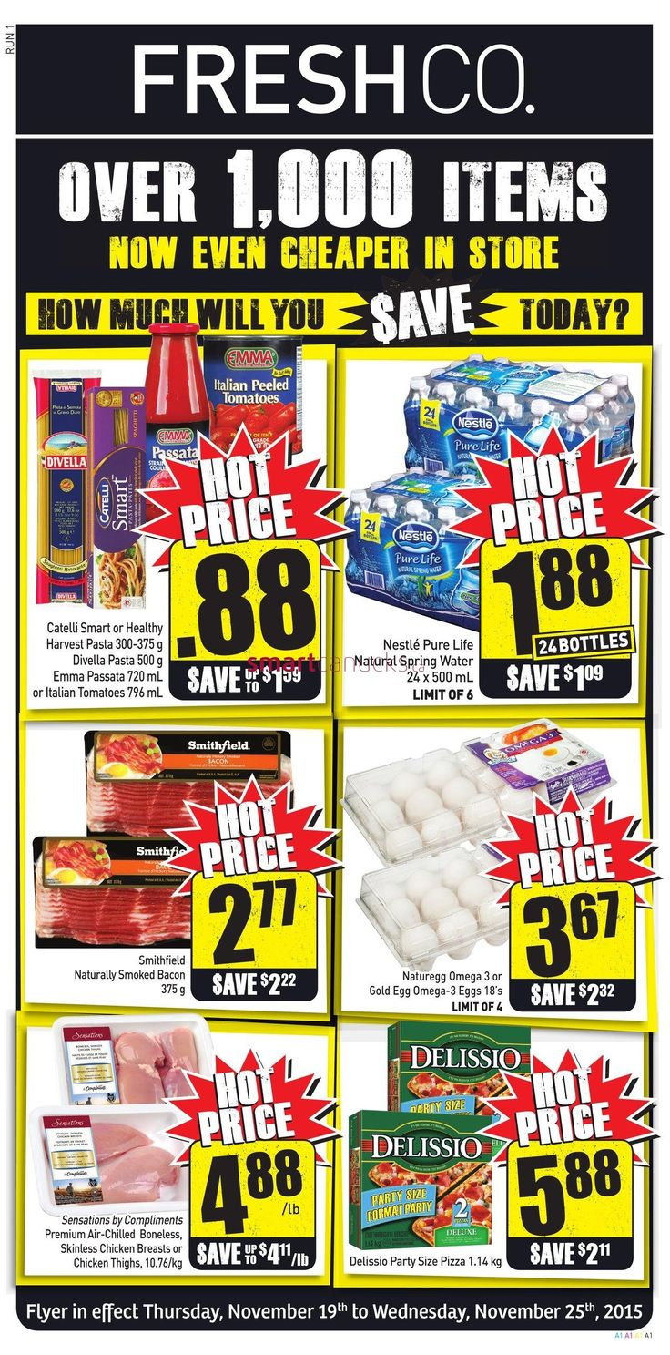FreshCo Flyer November 19 to 25