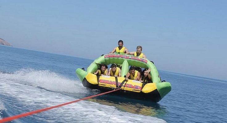 A new and impressive product  - ride with 4 riders on the bottom  - ride with 4 riders on the bottom and 2 riders stand-up  - ride with 4 riders on the knees  drive as faster as you like... safe, fast , extreme  On any combination, your riders will be super excited...