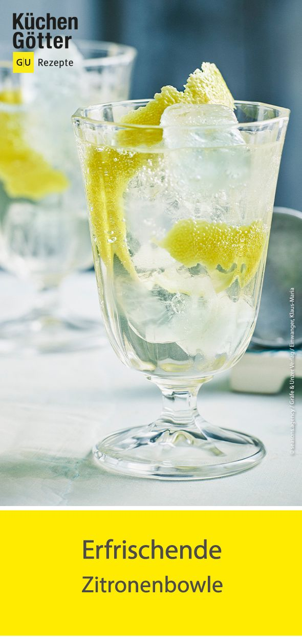 Zitronenbowle