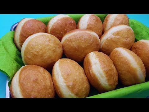 Gogosi rotunde, grase si pufoase, exact ca la gogoserie (simple sau umplute) - YouTube