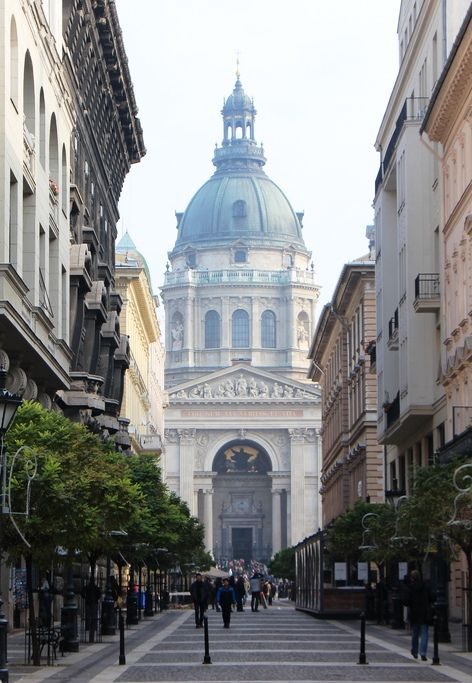 Named for the country's first king, Budapest's iconic St. Stephen's Basilica holds one of the city's most famous treasures—the mummified right hand of its namesake.