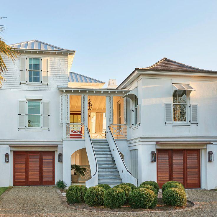 Beach Chic Coastal Cottage Home Tour With Breezy Design: Tour This Breezy South Carolina Beach House