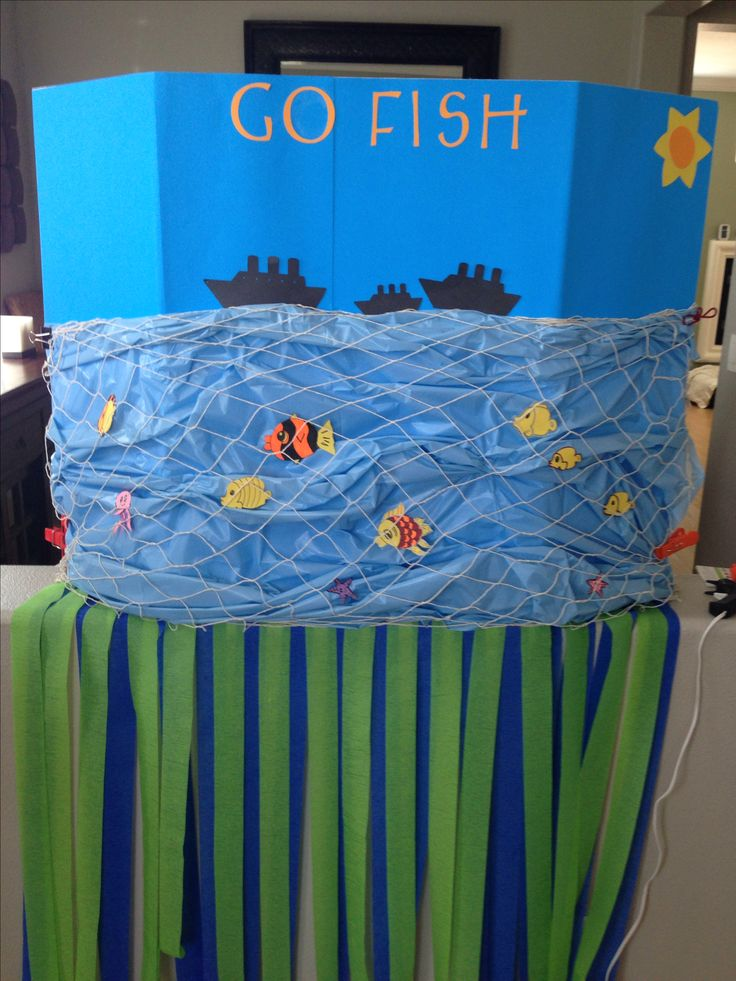 Go fish a fun homemade carnival game party ideas for Fish pond game