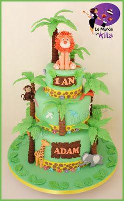 Le Monde de Kita: Jungle Party pour Adam   L'adorable Adam a eu la c...
