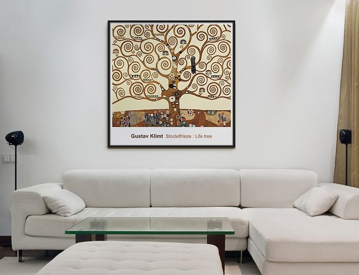 Gustav Klimt,구스타프클림트:Tree of Lfe,생명의 나무 _ bigframe/Interior piece/frame decoration/액자인테리어/빅프레임