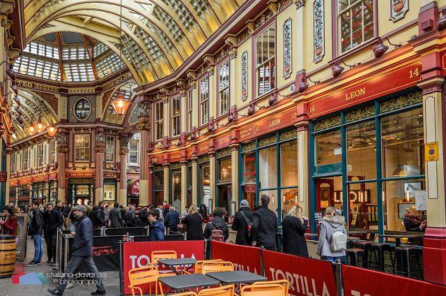 Stefanodav's Shot-Blog: Leadenhall Market... #london #londra