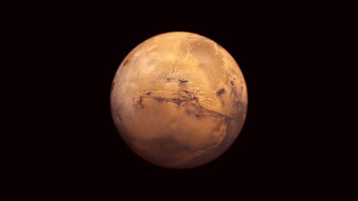 High resolution picture of Mars.