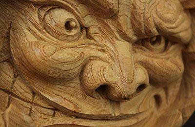 ジャックオーランタンの彫刻画像2