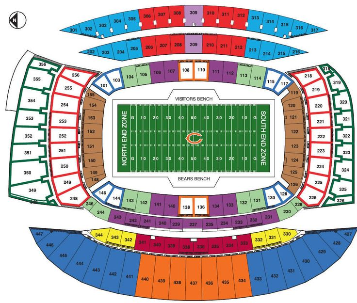 Chicago Bears PSL Marketplace - Permanent Seat