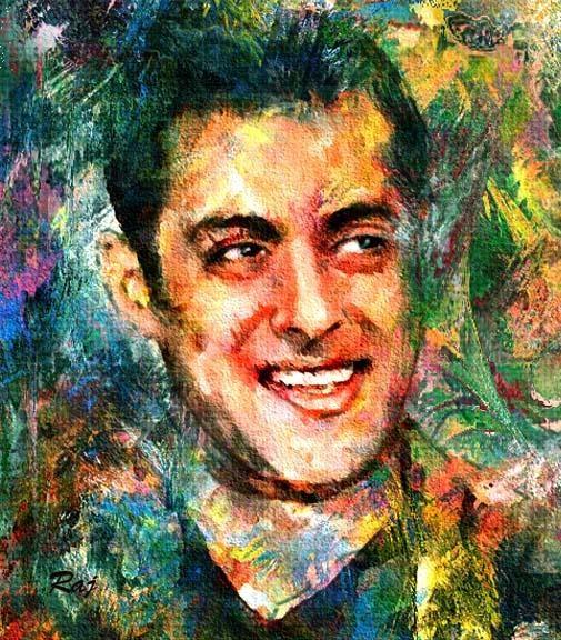 Salman Khan  - Digital Art by Raju Arya Art at touchtalent 46647