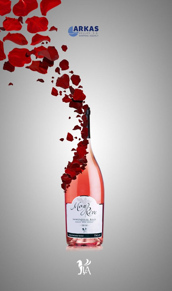 LA Wines - design by Koray Cengiz #wine #advertisement