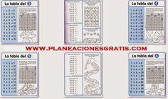 las tablas de multiplicar, ejercicios de las tablas de multiplicar,aprenderse las tablas de multiplicar,