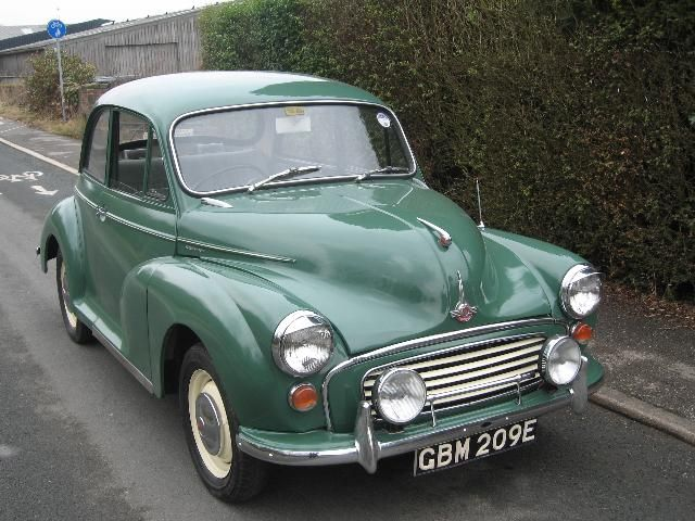 Another fine example of the Best Of British  Morris Minor 1000cc