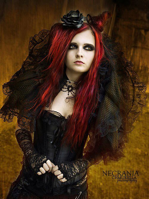 Gothic Girl In Neo Victorian Outfit Get Your Goth On With Punk Clothing Find This Pin And More
