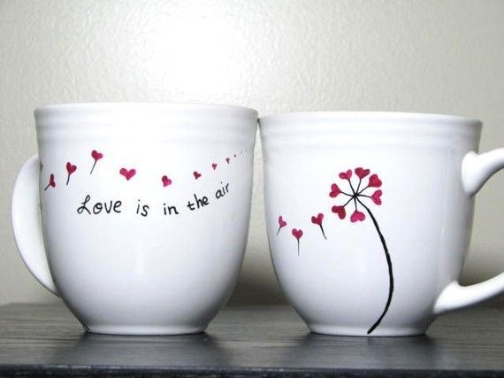 I am a huge, HUGE fan of hand painted or drawn mugs. This idea is all over the internet so I promise that I won't claim being original. Howe...