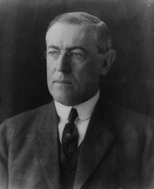 Woodrow Wilson Princeton President first, and surprisingly bigoted.
