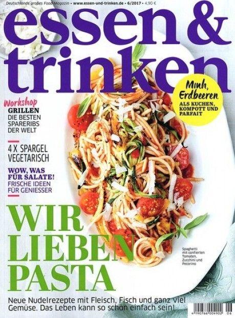 Deine lieblings Zeitschrift zum Thema Essen & Trinken im Abo mit Praemie bei uns erhaeltlich.  Spare jetzt Geld bei unseren Abo-Modellen und lass Dich von unseren Praemien überzeugen.  Besuche uns auf unseren Onlineshop!