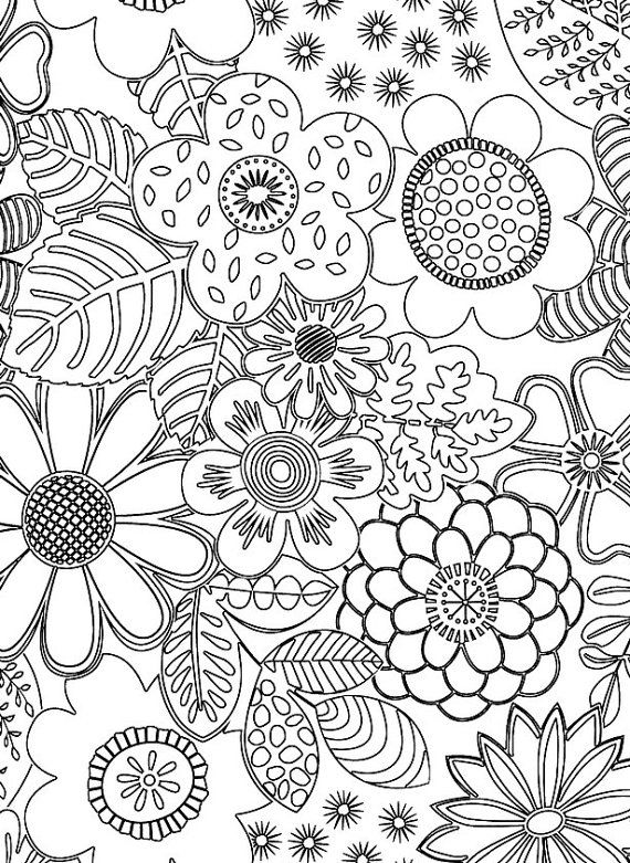 Crayola patterned escapes coloring book patterned - Coloriage mandala printemps ...