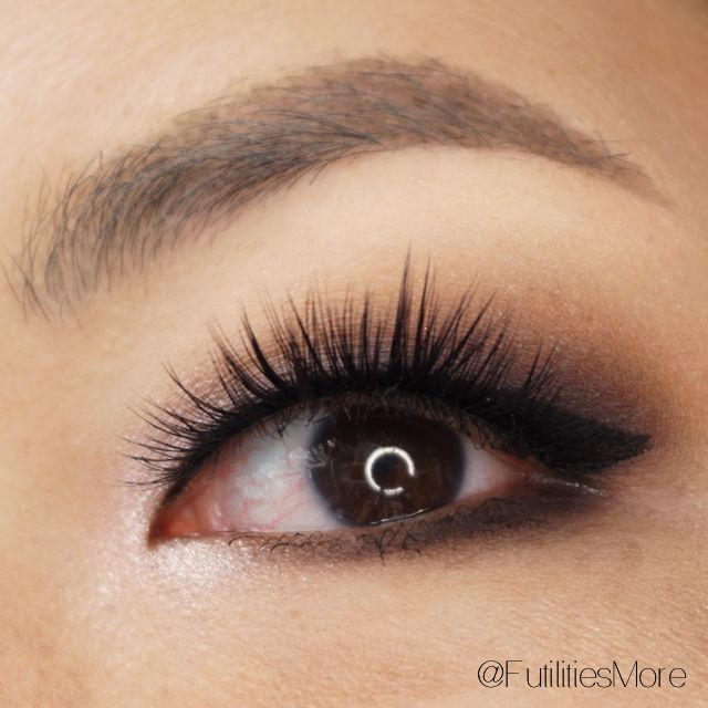 Anastasia Beverly Hills Shadow Couture Makeup Tutorial for asian monolid eyes. House of lashes boudoir on asian eyes