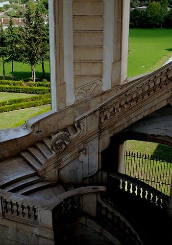 certosa di padula, stairway by dekker@dekker, via Flickr