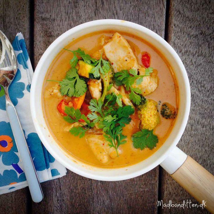 Rød thai-curry - Madbanditten.dk