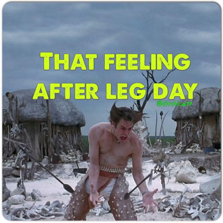 "The day after leg day....""it's in the bone, it's in the bone!"" #fitness #humor…"