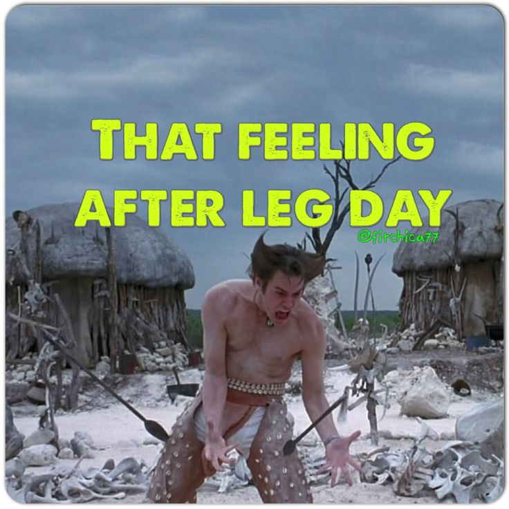"The day after leg day....""it's in the bone, it's in the bone!"" #fitness #humor…"