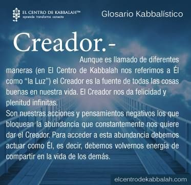 Glosario Kabalístico-Centro de Kabbalah México