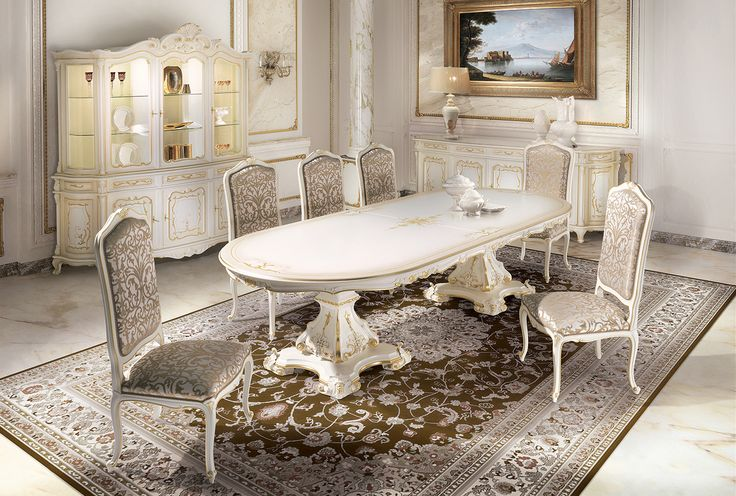 CANALETTO Italian luxury dining room furniture