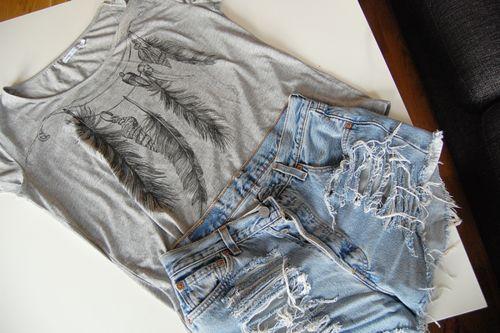 Shorts and tee