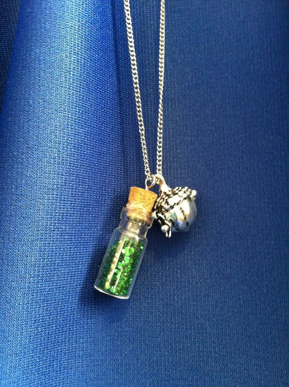 pan pixie dust necklace necklaces pan and